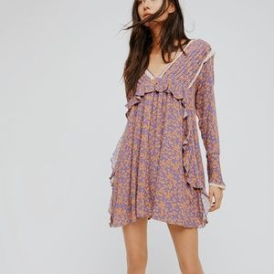 • FREE PEOPLE • like you better floral dress